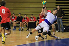 Handball foul Royalty Free Stock Image