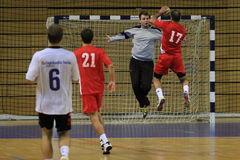 Handball goal Royalty Free Stock Images