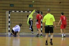 Handball goal Stock Photography