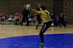 Handball goalkeeper Stock Image