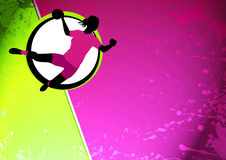 Handball grill background Royalty Free Stock Images