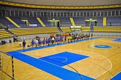 Handball match, Città Giardino Torino Vs Derthona Stock Photos