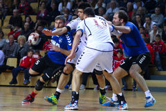 Handball (men) Stock Image