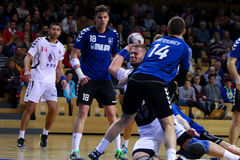 Handball (men) Royalty Free Stock Photography