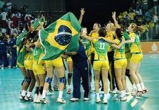 Handball - niecek Amerykańskie gry 2007 obraz stock