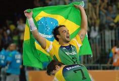 Handball - niecek Amerykańskie gry 2007 obrazy stock