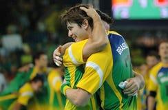 Handball - niecek Amerykańskie gry 2007 fotografia royalty free