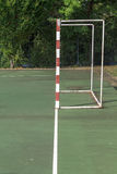 Handball outdoor court Stock Images