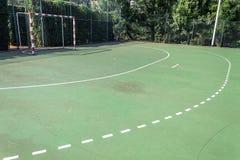 Handball outdoor court Royalty Free Stock Image