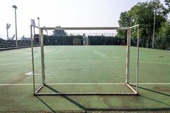 Handball outdoor court Royalty Free Stock Photos