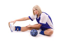 Handball player Stock Photos