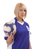 Handball player Royalty Free Stock Images