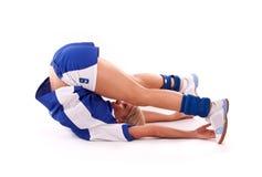 Handball player Royalty Free Stock Image