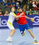 Handball player Jorge Maqueda Stock Photo