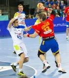 Handball player Julen Aguinagalde Stock Photos