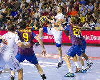 Handball player Nikola Karabatic Stock Photos