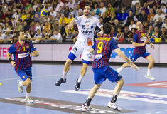 Handball player Nikola Karabatic Stock Image