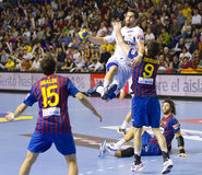 Handball player Nikola Karabatic Stock Images