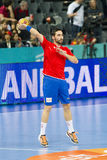 Handball player Valero Rivera Royalty Free Stock Photo