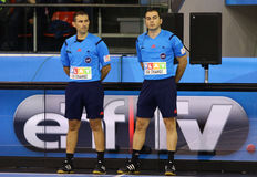 Handball referees Stock Photography