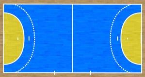Handball sąd ilustracja wektor