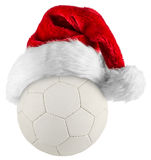 Handball santa hat Stock Images