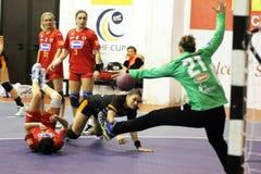 Handball show Royalty Free Stock Images
