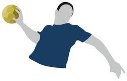 Handball-Sport Lizenzfreies Stockbild