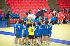 Handball sport. Royalty Free Stock Photos
