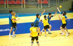 Handball sport. Stock Photos