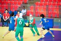 Handball sport. Royalty Free Stock Images
