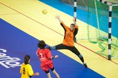Handball sport. Royalty Free Stock Photography