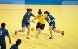 Handball sport. Royalty Free Stock Photo