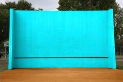 Handball/Tennis Backboard. Backboard for playing handball or practicing tennis Royalty Free Stock Images