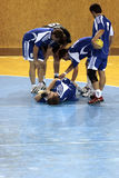 handball uraz Obrazy Stock