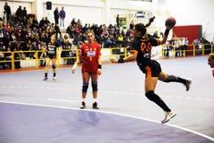 Handball women Royalty Free Stock Photos