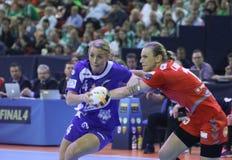 HANDBALL WOMEN EHF CHAMPIONS LEAGUE FINAL 4 – CSM BUCURESTI vs. ZRK VARDAR Stock Image