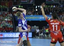 HANDBALL WOMEN EHF CHAMPIONS LEAGUE FINAL 4 – CSM BUCURESTI vs. ZRK VARDAR Stock Images