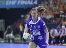HANDBALL WOMEN EHF CHAMPIONS LEAGUE FINAL 4 – CSM BUCURESTI vs. ZRK VARDAR Royalty Free Stock Photo