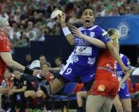 HANDBALL WOMEN EHF CHAMPIONS LEAGUE FINAL 4 – CSM BUCURESTI vs. ZRK VARDAR Royalty Free Stock Images