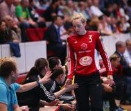 HANDBALL WOMEN'S CHAMPIONS LEAGUE - CSM BUCHAREST vs. ROSTOV-DON Royalty Free Stock Photos