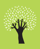 Handbaum stock abbildung