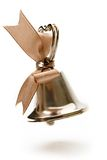Handbell. On the white background Royalty Free Stock Image