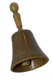 Handbell de bronze Imagens de Stock Royalty Free