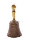 Handbell en bronze Image stock