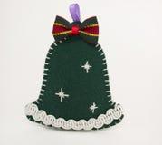 Handbell. Soft handmade Christmas toy as a Handbell Stock Images