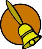 Handbell vector illustration. Vector illustration of a handbell Royalty Free Stock Photography