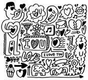 Handbetrag-Liebeselement Lizenzfreie Stockfotos