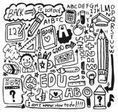 Handbetrag-Schuleelement Lizenzfreie Stockfotos