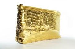Handbeutel-Gold Stockfotos